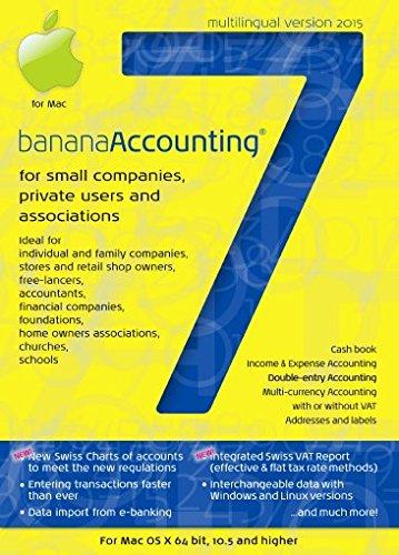 Banana Buchhaltung 7.0 -  Version 2015 - MAC (Multilingual)