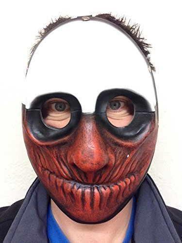 payday-2-heist-dallas-wolf-hoxton-catene-resina-maschere-clown-gioco-halloween-mask