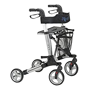 "Days Deluxe Lightweight Rollator - Seat Height 61cm (24"")"
