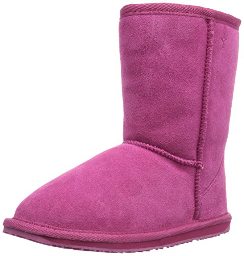Emu Wallaby Lo,Unisex - Kinder Stiefel, Pink (Hot Pink), 24 EU  (7 UK) (Emu Stiefel Lammfell)