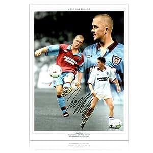 Julian Dicks Signed West Ham United Photograph