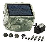 Royal Gardineer Solarwasserpumpe: Solarbetriebene Teichpumpe Biosphere (Solar Teichpumpen)