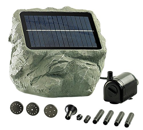 "Royal Gardineer Solarpumpe: Solarbetriebene Teichpumpe ""Biosphere"" (Solar Teichpumpe)"