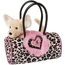 Douglas Cuddle Toy - Bolso con estampado de leotardo y chihuahua de peluche