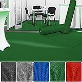 etm Premium Messeteppich Meterware   Eventteppich als Hochzeitsläufer, Premierenteppich, VIP-Teppich uvm.   viele Farben und Größen   Dunkelgrün - 200x150 cm