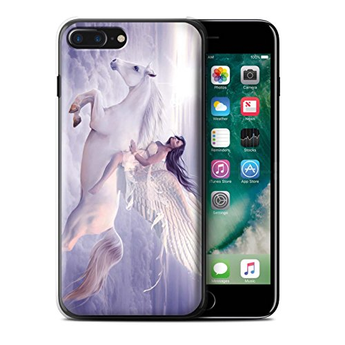 Officiel Elena Dudina Coque / Etui pour Apple iPhone 7 Plus / Robe Mer Design / Fantaisie Ange Collection Je Peux Voler