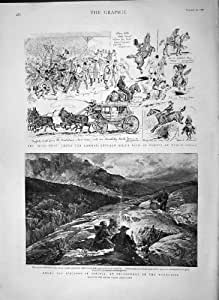 1892Montagnes Corse Bellacoscia Buffalo Bill comte; S