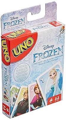 Mattel Disney Frozen UNO de Mattel Spiele