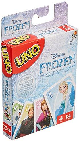Mattel Spiele - UNO Die Eiskönigin - UNO Frozen - Kartenspiel