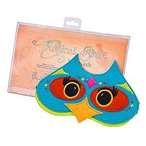 Diabolical gifts DP0956 - Antifaz para Dormir, diseño de pájaro Tropical