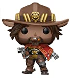 Funko 13087 - Overwatch, Pop Vinyl Action Figure 182 Mccree