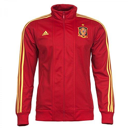 Adidas - Sudadera de fútbol sala para hombre, tamaño L, color univerred/su