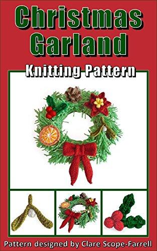 Christmas Garland Knitting Pattern