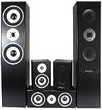 5.0 Heimkinosystem 850 Watt Hi-Fi Audio Sound Musik Anlage Wohnzimmer Boxen Lautsprecher E1004BL