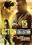 15 ACTION MOVIES FEATURING STEVEN SEAGAL IN DRIVEN - 15 ACTION MOVIES FEATURING STEVEN SEAGAL IN DRIVEN (3 DVD)