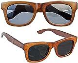 Sylt 1927 Wayfarer X5 Sonnenbrille Echtholz Bankirei Style