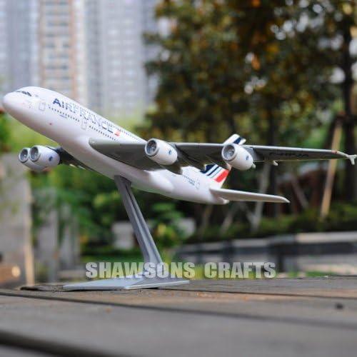 PLANE MODEL AIRBUS A380 Scale 1/250 AEROBUS Airliner AIR France Replica   De Nouvelles Variétés Sont Introduites L'une Après L'autre
