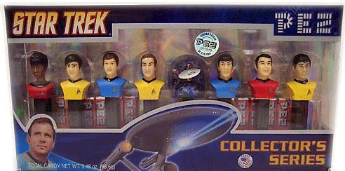 PEZ Star Trek Limited Edition, Numbered Collectors Set, 3.48-Ounce Box by Pez Candy