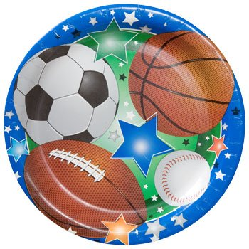 Greenbrier Sports Theme Party Pack