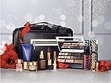 Estee Lauder 2016 Blockbuster Holiday Make Up Gift Set w/Train Case -Smoky Noir