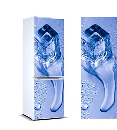 Vinilo Frigorífico cubito hielo |Varias Medidas 185x70cm