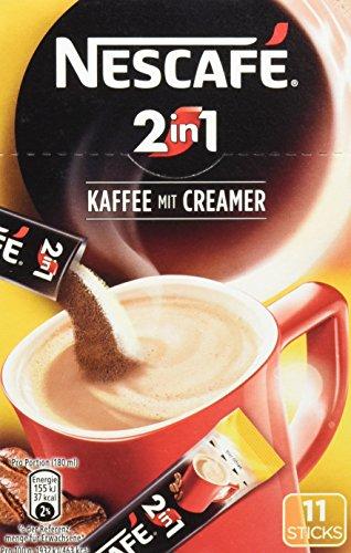 Nescafé 2in1 Sticks Kaffee mit Creamer 10 Sticks, 100 g