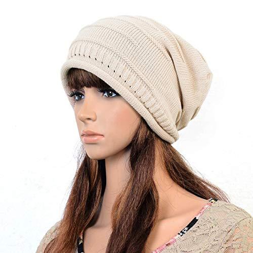 HAOLIEQUAN Nouveau Chapeau Tricoté pour Femmes