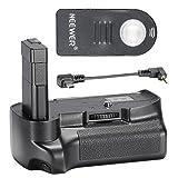 Neewer® Vertikaler Batteriegriff Akkugriff Battery Grip mit Fernauslöser Fernbedienung für Nikon D3200/D3300 SLR Digital Kamera, kompatibel mit EN-EL14 Batterie