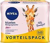 NIVEA 3-in-1 Mizellen Reinigungstücher 2er Pack