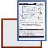 Franken - Portadocumento con cierre magnético, formato A4, color rojo [1 unidad]