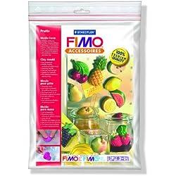 Staedtler Fimoâ Accessoires Polybag Moule 14 Motifs Fruits 5 x 3 cm