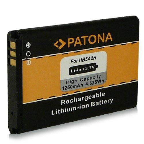 Akku / Batterie wie BTR7519 | HB5A2H für Huawei C5730 | C8000 | C8100 | E5805 | EC5808 | HB5A2H | HiQQ | M228 | M750 | M750 | MOT EX300 | PINNACLE 2 M636 | Pulse Mini | T550 | T550+ | T552 | T-Mobile Tap | U1860 | U3100 | U7510 | U7519 | U7519 | U7520 | U8100 | U8110 | U8500 | VERGE M570 und weitere… [ Li-ion, 1250mAh, 3.7V ]
