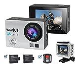 4K Action Cam WiFi Actioncam 16MP Action Kamera Wasserdicht mit Ferbedienung