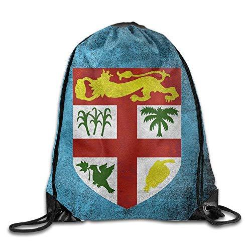 5e88bc7d6156 Etryrt Sacs à Cordon,Sac à Cordes,Sac à Dos, Training Palm Leaves  Silhouettes Cool Drawstring Backpack