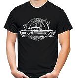 Eleanor Männer und Herren T-Shirt | Mustang Shelby GT500 (L, Schwarz)
