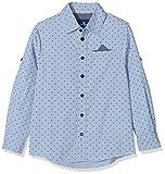 TOM TAILOR Unisex Baby Hemd Gemustert 1/1 Kent, Blau (Brunnera Blue 6912), 116/122