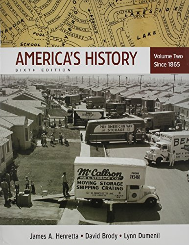 America's History, Volume Two: Since 1865 [With Paperback Book]