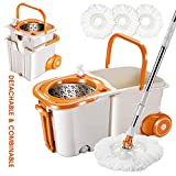 Best Spin Mops - Masthome Space Saving 360 Spin Mop Easy Mop Review