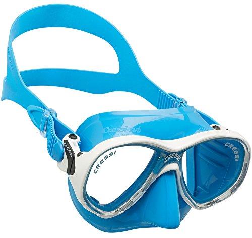 Cressi Marea Jr Mask Kinder Tauchmasken, Blau, Einheitsgröße -