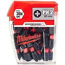 Milwaukee Conjunto de Pontas PH2–25