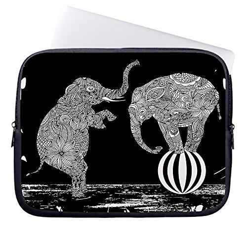 whiangfsoo-geometric-patterns-with-a-elephants-in-ethnic-style-waterproof-soft-neoprene-sleeve-case-