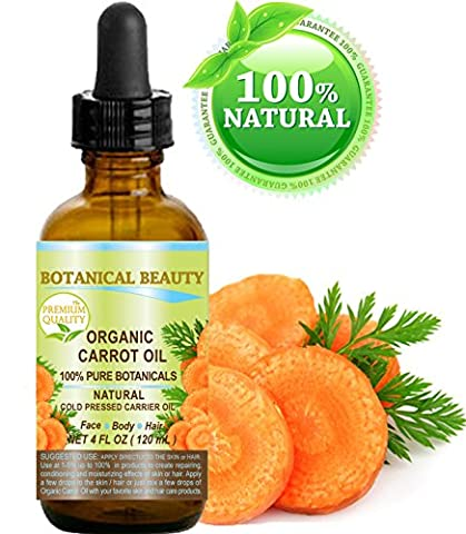 ORGANIC CARROT OIL. 100 % Pure / Natural /Undiluted. For