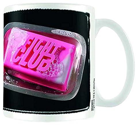 Empireposter - Fight Club - Soap - Größe (cm), ca. Ø8,5 H9,5cm - Lizenz Tassen Batman - Keramik Tasse, weiß, bedruckt, Fassungsvermögen 320 ml, offiziell lizenziert, spülmaschinen- und
