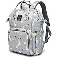 Motherly Baby Diaper Bag, Mothers Maternity Bags for Travel (Unicorn Gray-Style2)