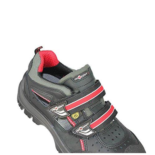 Aimont deneb électricien s1P sRC chaussures de sécurité eSD berufsschuhe businessschuhe sandale chaussures de trekking noir Schwarz