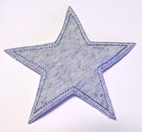 patches-bugelflicken-stern-jersey-blau-115-cm
