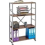 Genuine Piranha BALLAN Stylish 4 Shelf Bookcase to match our Range of Home Office Furniture PC 12w