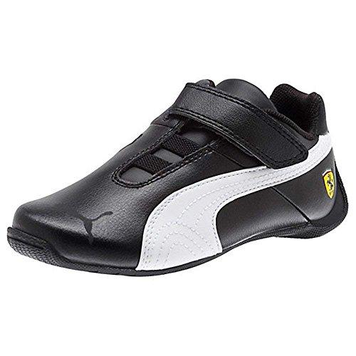 5aa8ef0e9 Puma Future Cat SF Ferrari Junior Kids Touch Fastening Sports Casual  Trainer Shoes (Black