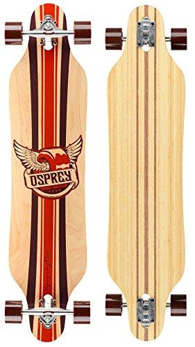 Osprey, Longboard Twin Tip, Marrone (phoenix), Taglia unica - Longboard Rotolo