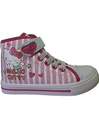 Baskets montantes en toile Hello Kitty